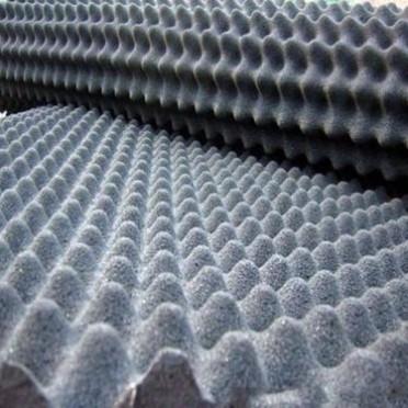 波浪海綿波浪吸音海棉波浪形阻燃海綿波浪形阻燃消音海棉灰色波浪吸音泡棉